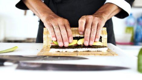 Cómo hacer sushi casero