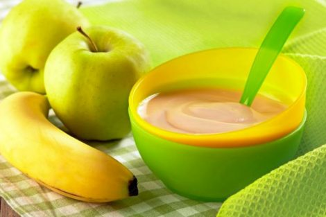 3 compotas de frutas para bebés a partir de 4 meses