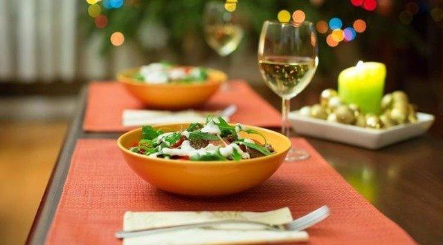 Menú de ensaladas para la cena de Fin de Año