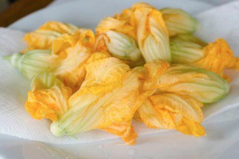 2 recetas exquisitas con flores de calabacín
