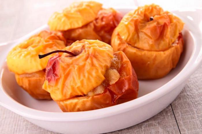 Recetas de manzanas al horno