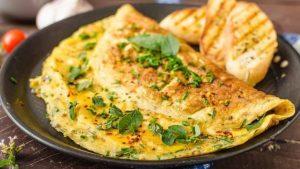 3 recetas de tortilla francesa que te encantarán