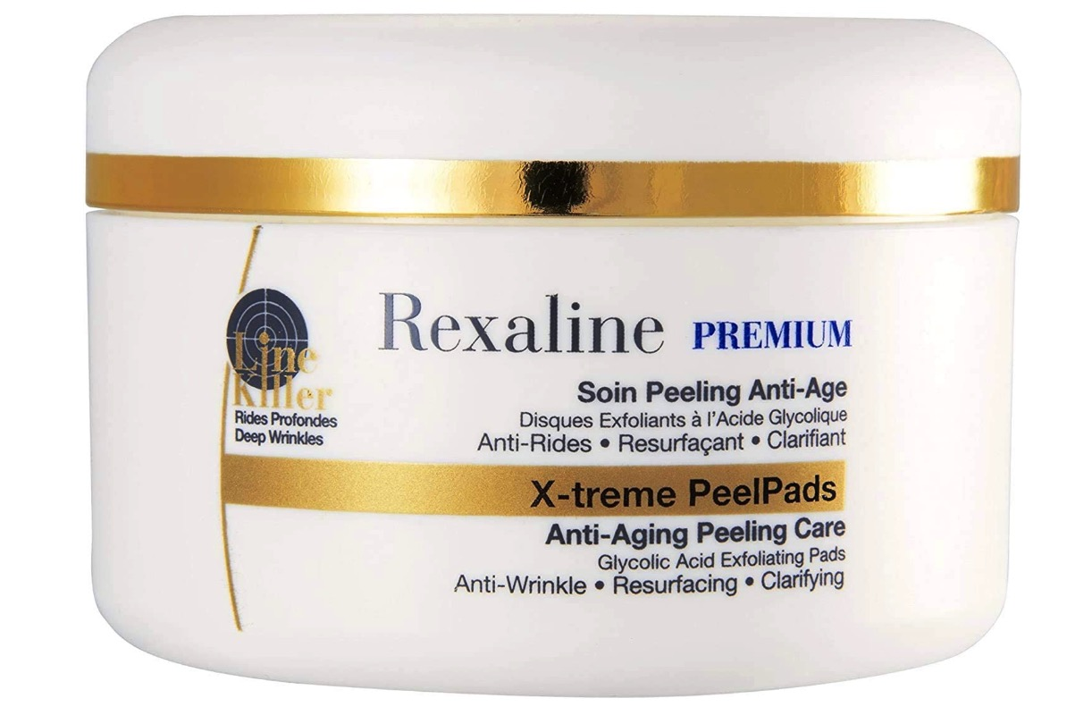 Rexaline X-treme Peels Pads - Peeling facial con ácido glicólico