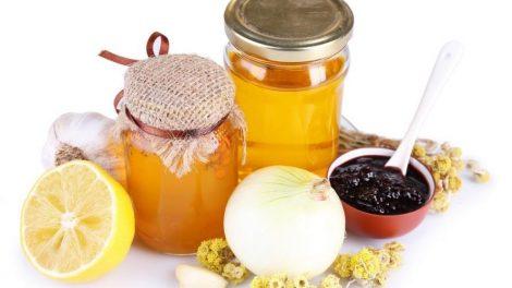 Ajo, cebolla y miel para el resfriado