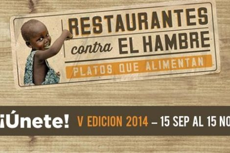 Interesante iniciativa: restaurantes contra el hambre