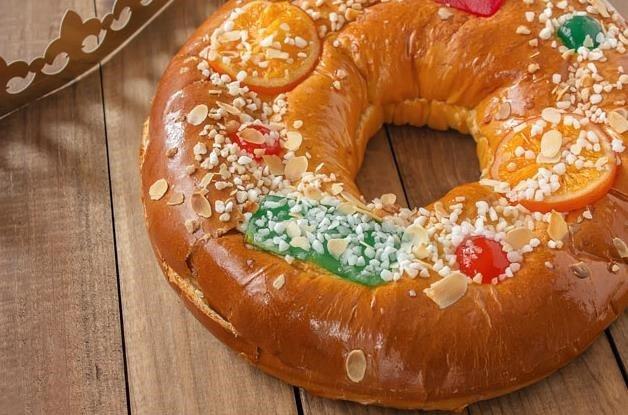 Receta de roscón de Reyes fácil