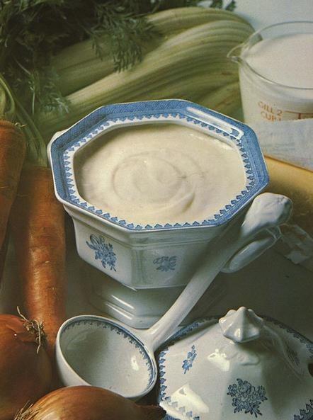 Bechamel con leche de almendras