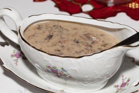 Salsa de champiñones: receta ideal para acompañar carnes y pasta