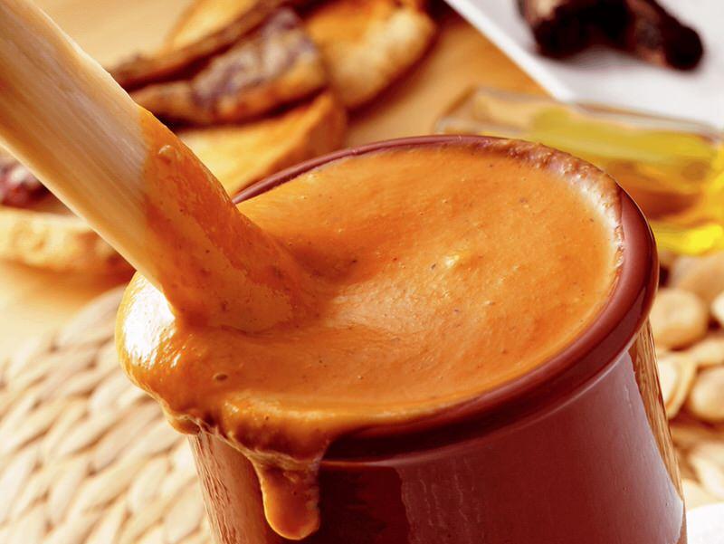 Receta de salsa romesco