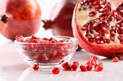 Los beneficios de las semillas de granada