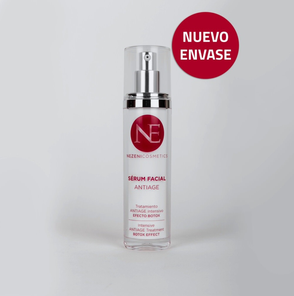 Sérum facial antiage de Nezeni Cosmetics