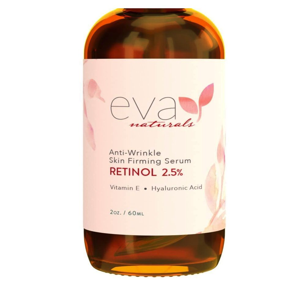 Sérum con retinol al 2.5% de Eva Naturals