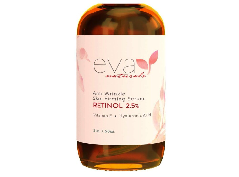 Sérum facial con retinol de Eva Naturals