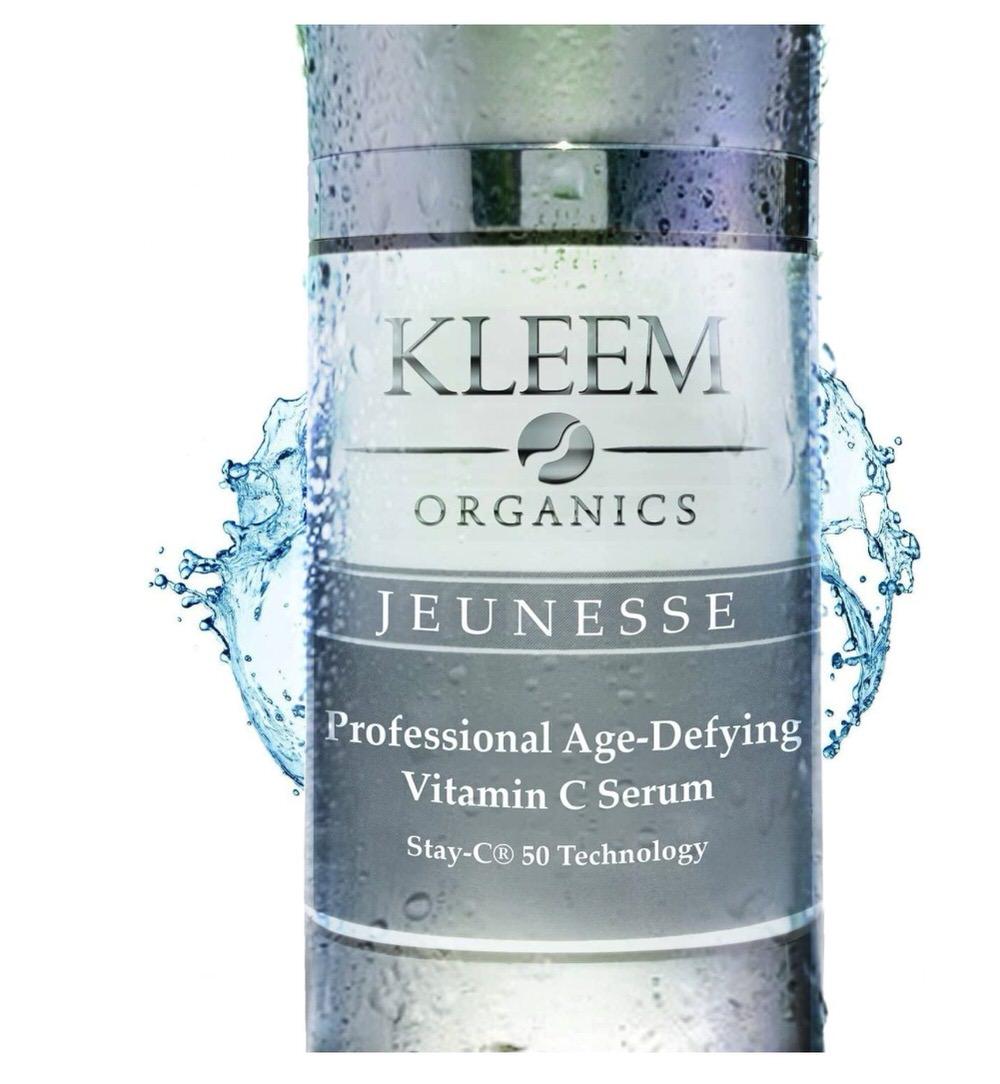 Suero facial antiedad de Kleem Organics