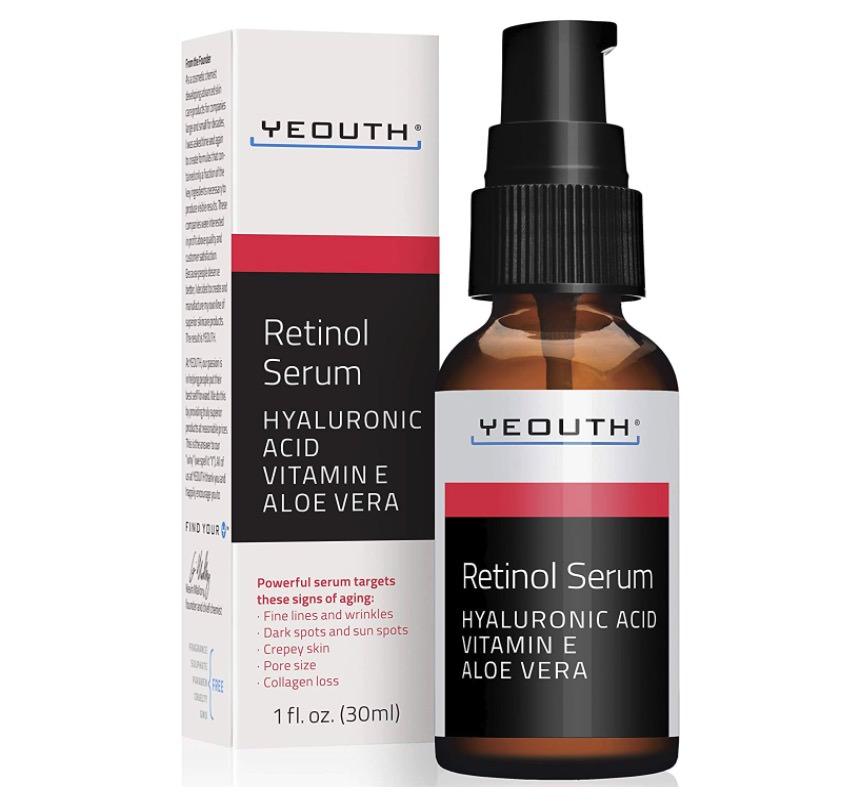 Sérum de Yeouth con retinol al 2.5%