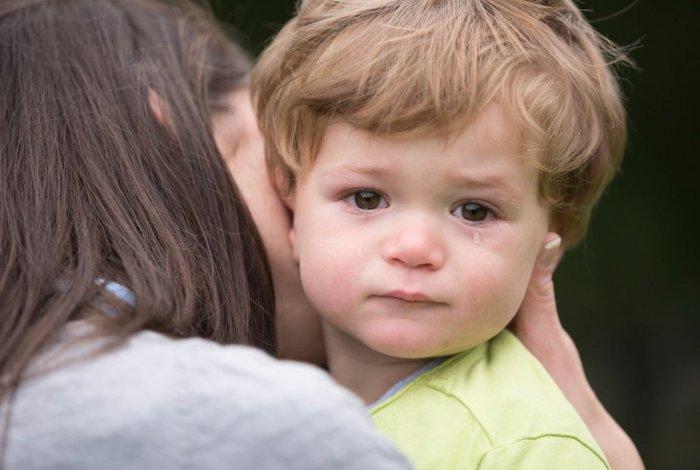 Señales del mal de ojo en niños pequeños