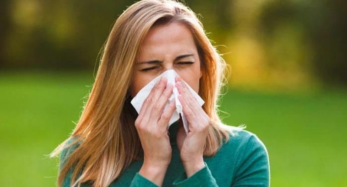 Síntomas de la alergia en primavera