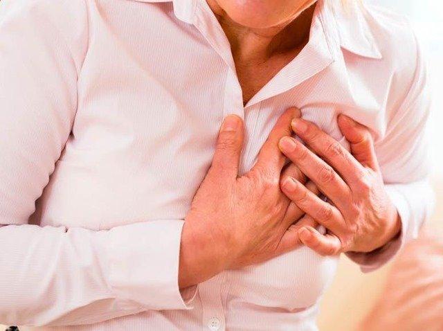 Las señales del infarto más habituales