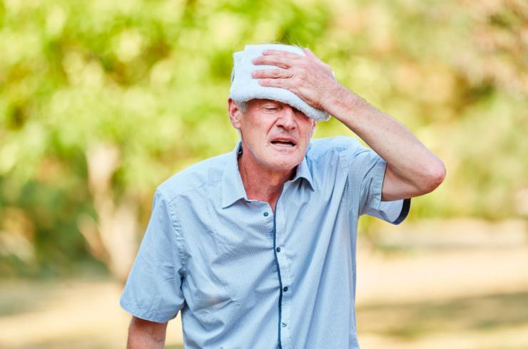 Síntomas de la insolación