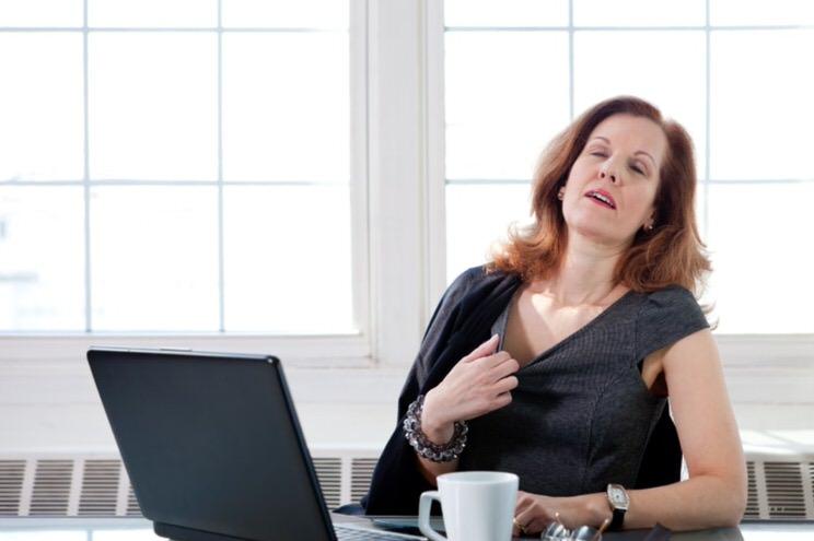 Síntomas del sofoco de la menopausia