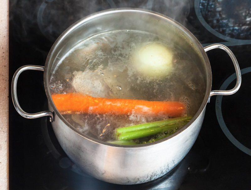 Sopa casera y natural