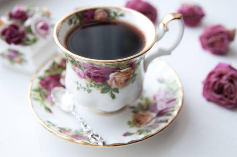 Sustancias de una taza de té
