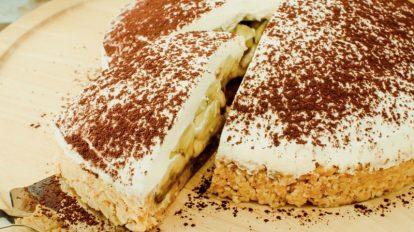Deliciosa tarta Banoffee