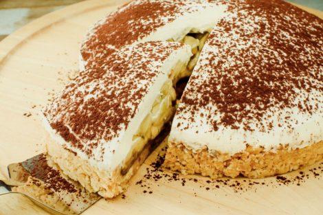 Tarta Banoffee o Banoffi de plátano y toffee: receta original