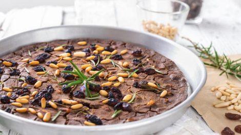 Cómo hacer castagnaccio italiano