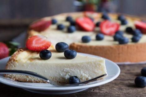 Entérate cómo puedes preparar una deliciosa tarta de queso vegana