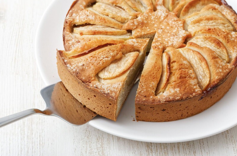 Tarta de manzana al horno