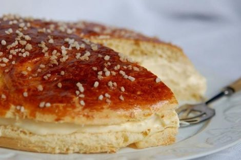 Tarta tropézienne: tarta francesa de brioche y crema (La Tarte Tropézienne)