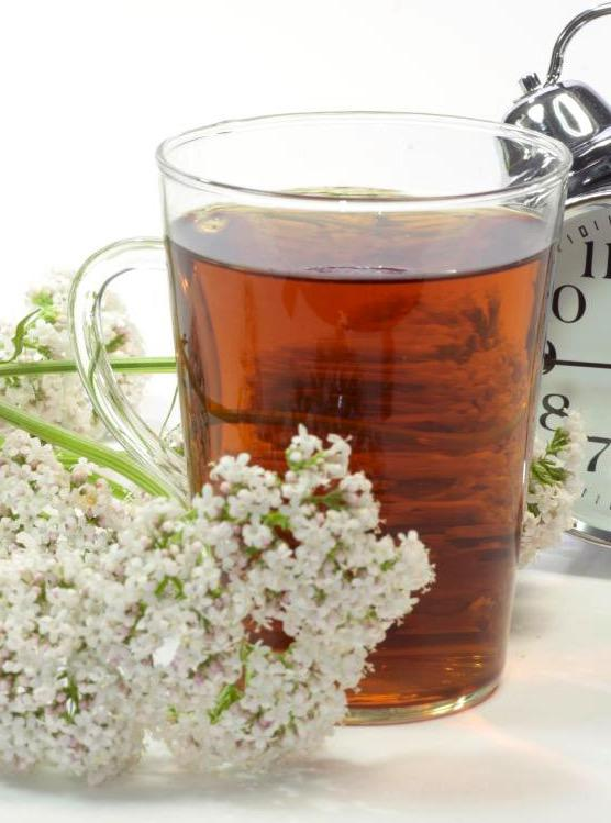 Receta de té de valeriana