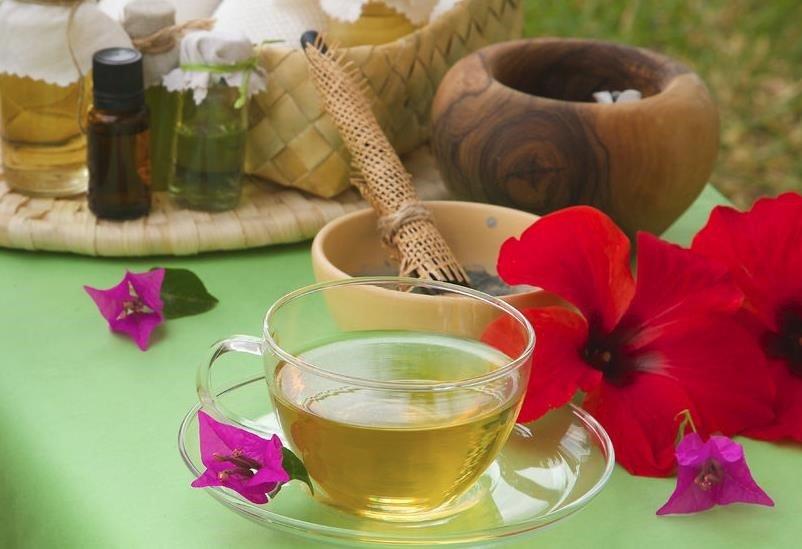 Propriedades de chá verde na beleza