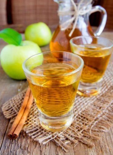 Receta de té verde con manzana y canela
