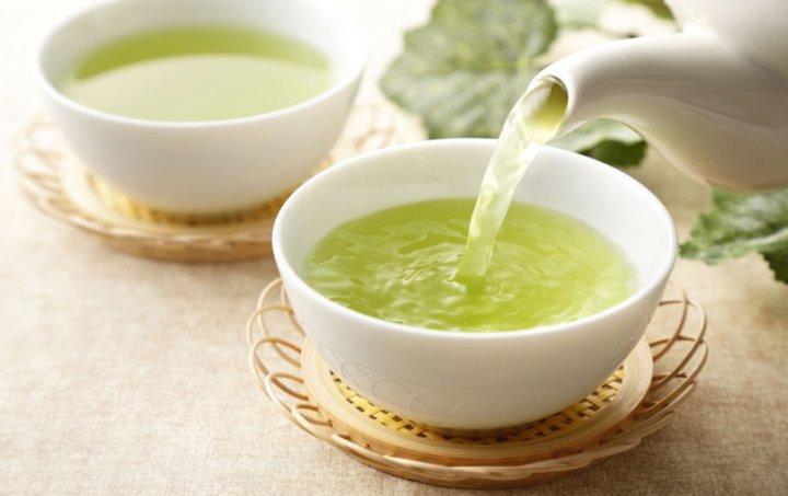 Te verde y taninos