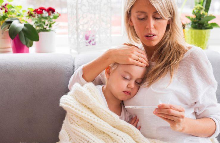 Consejos si el niño tiene fiebre