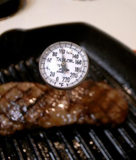 Temperatura de cocción de la carne