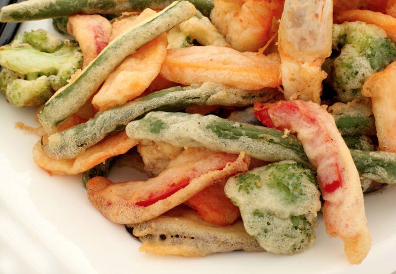 Deliciosa tempura de verduras