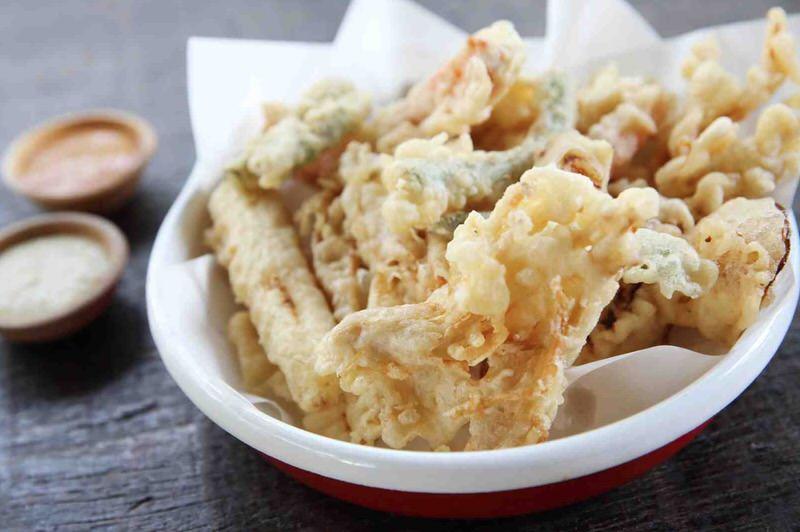 Cómo hacer tempura de verduras
