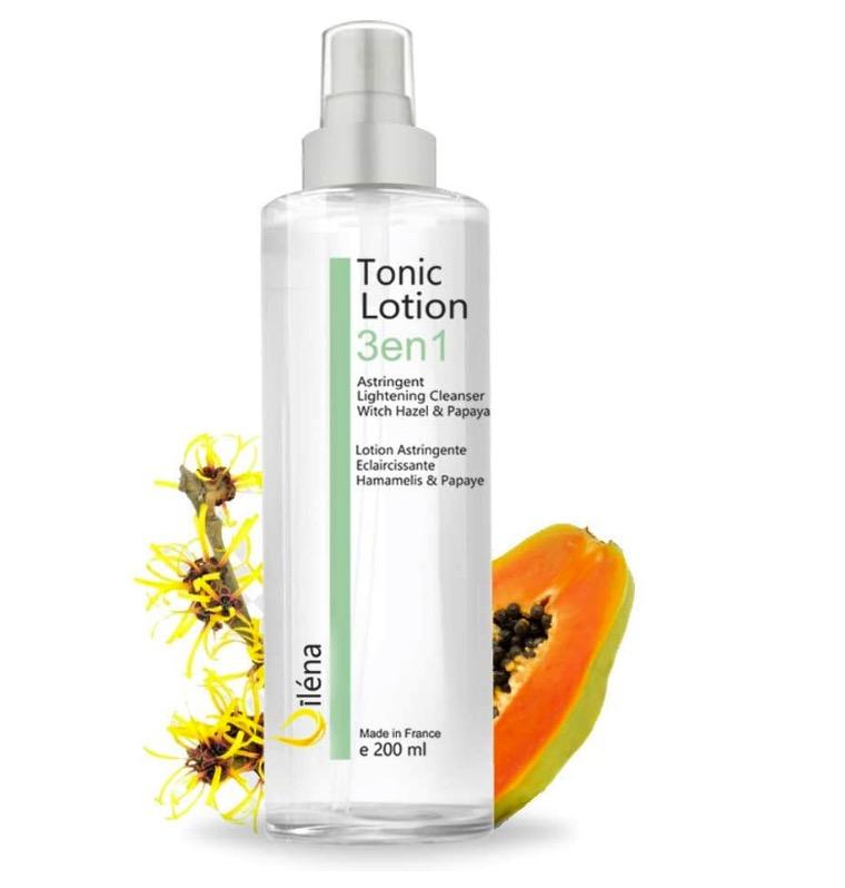 Tónico para limpieza facial con áloe vera bio de Mother Nature Cosmetics