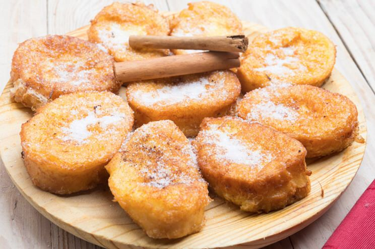 Receta de torrijas sin gluten