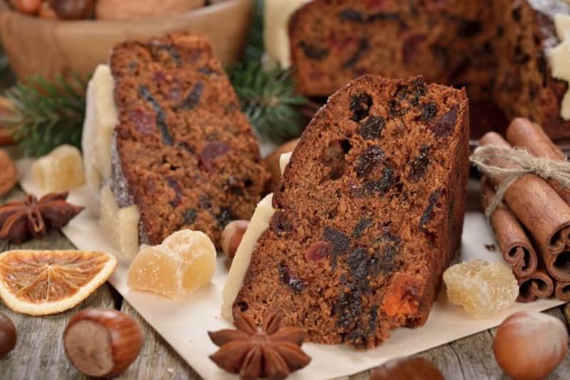 Torta negra galesa