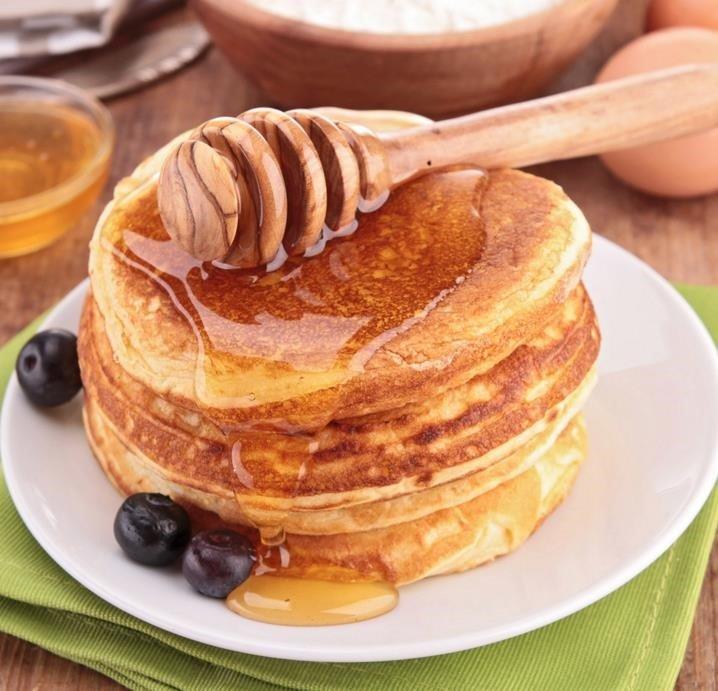 tortitas-americanas-con-miel