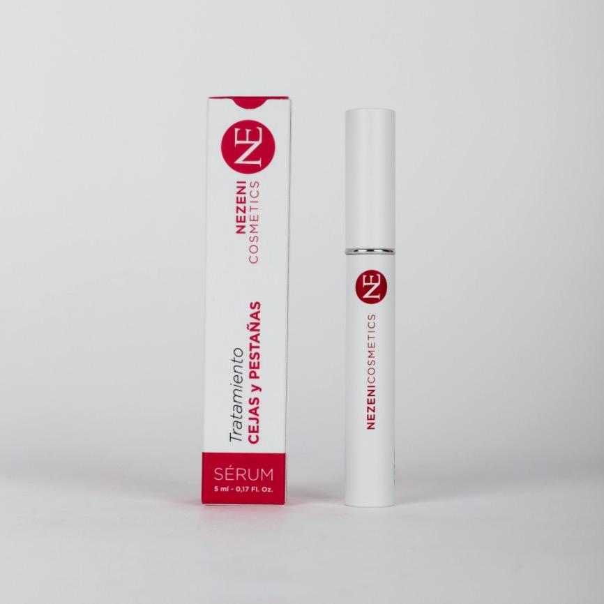 Tratamiento pestañas y cejas de Nezeni Cosmetics