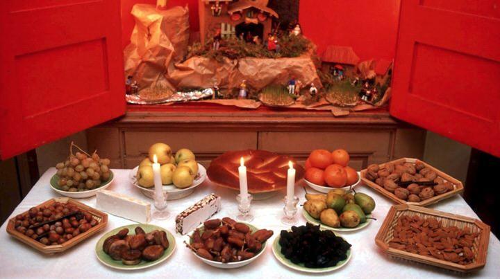 La tradición navideña de los Trece Postres