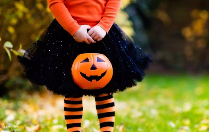 Truco o trato en Halloween