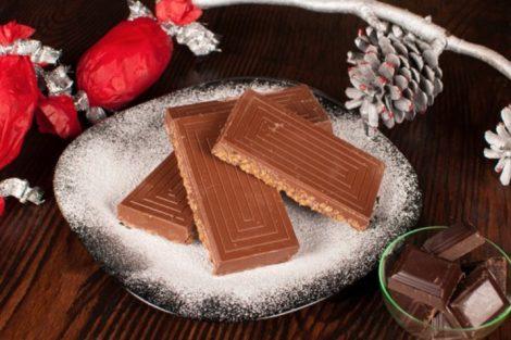 Cuatro recetas de turrón de chocolate para Navidad