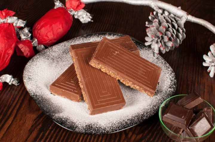 Turrones de chocolate recetas