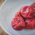 Qué es umeboshi y receta para hacerlas en casa